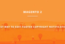 2. magento 2 copyright text feature