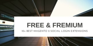 free & fremium magento 2 social login extensions