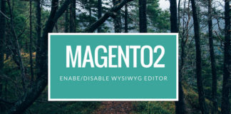 7. 7.disable WYSiWYG editor Magento 2