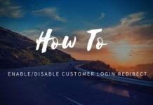 disable customer login redirect magento 2