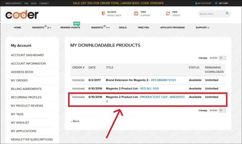 update new version magento 2 extensions