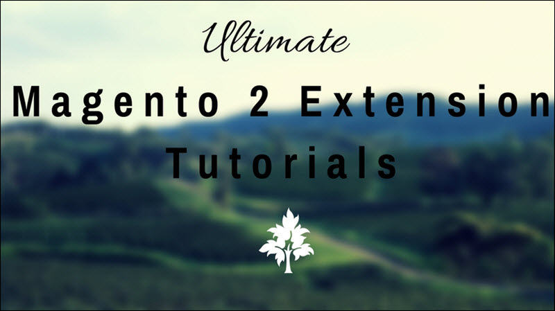 magento 2 extension tutorials