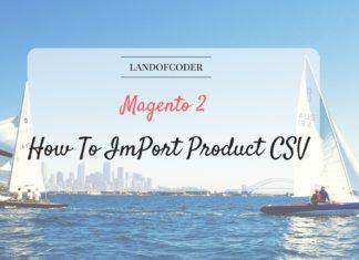 import product csv magento 2