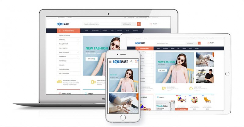Ves Bestmart - Magento 2 marketplace theme