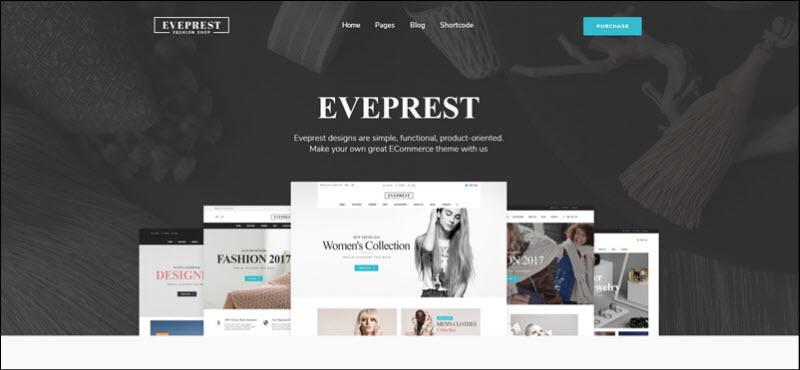 ves eveprest magento 2 theme marketplace