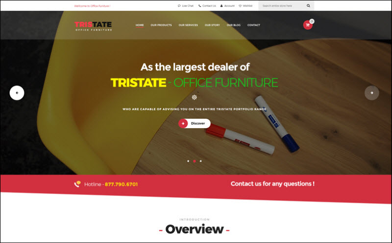 ves office furniture magento 2 theme marketplace