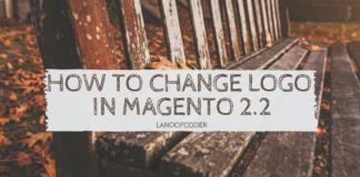 change logo magento 2.2