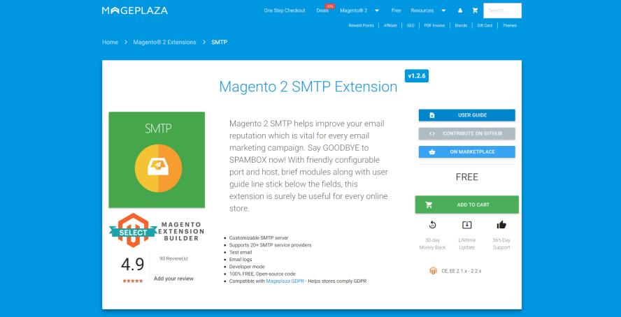 5+ Best Magento 2 SMTP Extensions Free & Premium 2018