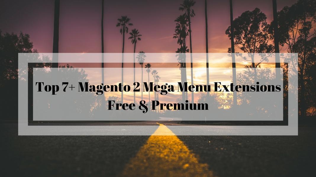 best magento 2 mega menu extensions