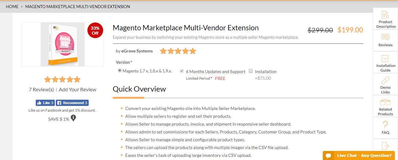 5+ Best Magento 2 Marketplace Pro - Premium for website