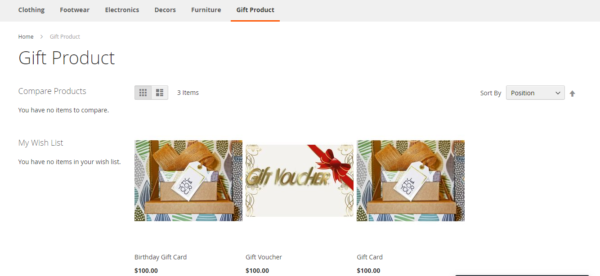 best 2 gift card module for magento