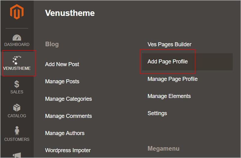 admin page builder magento 2
