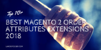 best magento 2 order attributes extensions