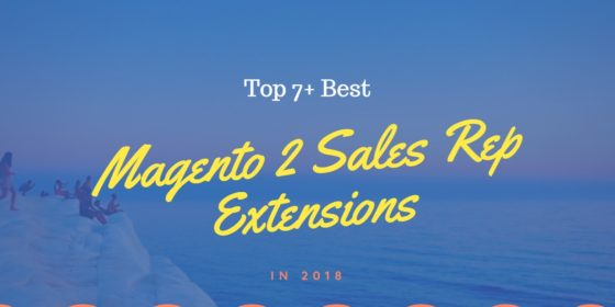 Top 7+ best magento 2 sales rep extensions for eCommerce in 2018