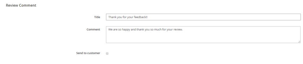 Admin reply customer review quickly with advanced magento 2 product reviews