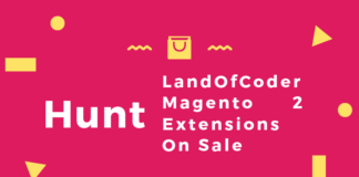 Hunt LandOfCoder Magento 2 Extensions On Sale - Save Huge Money Now!