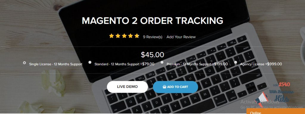 Magento 2 order tracking extension LandofCoder