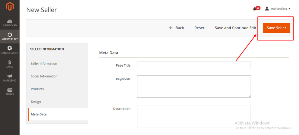 create seller with Multi vendor marketplace for magento 2 tutorial