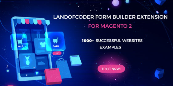Landofcoder magento 2 form builder successful websites examples