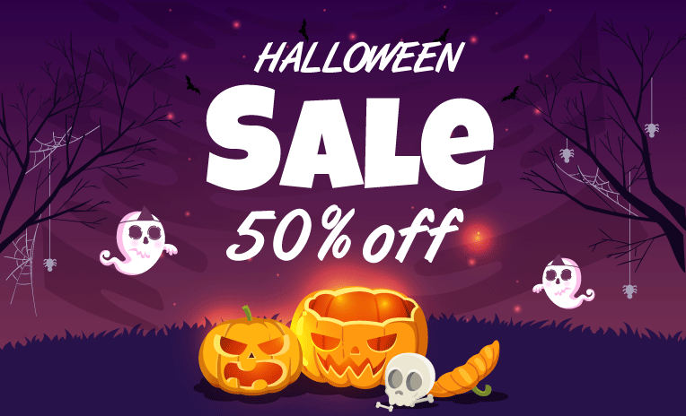 Hallween Sale OFF 50% All Magento 2 Extension