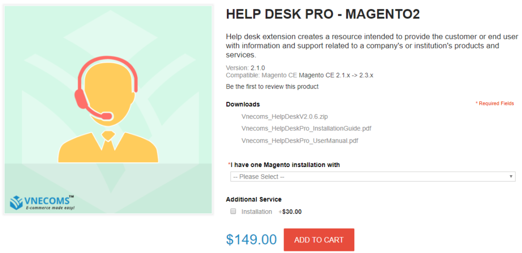 help desk pro for magento 2
