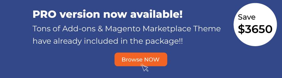 Magento 2 marketplace extension PRO version